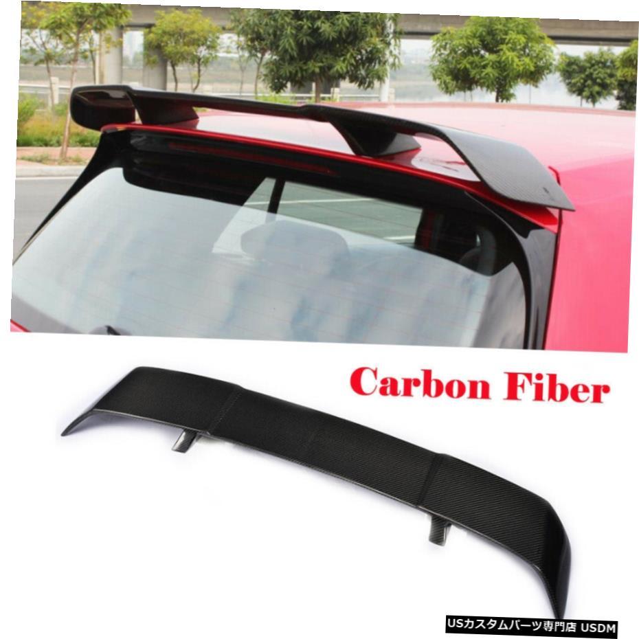 セットアップ エアロパーツ VWゴルフ7 VII MK7 GTI Roof VII 2014年から2017年カーボンファイバーリアルーフスポイラートップウイングリップのために For VW Spoiler Golf 7 VII MK7 GTI 2014-2017 Carbon Fiber Rear Roof Spoiler Top Wing Lip, インテリア雑貨 jam store:fe129910 --- midiaexpress.com.br