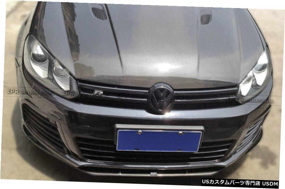 <title>車用品 バイク用品 >> 国産品 パーツ 外装 エアロパーツ その他 Revozportスタイルカーボンフロントバンパー下唇BodykitsについてはVWゴルフGTI R20 MK6 Revozport Style Carbon Front Bumper Bottom Lip Bodykits For VW Golf GTI</title>