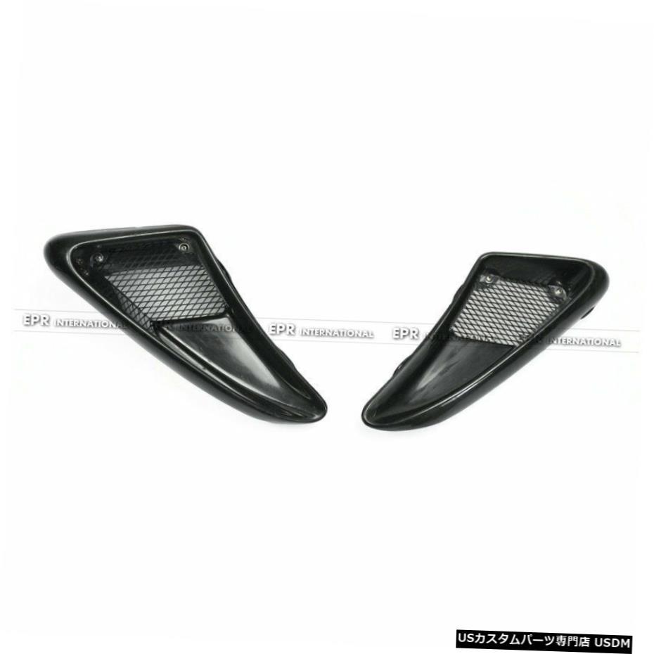 Air 2Pcs Style Side Vents FRP エアロパーツ Porsche EP Fender EPスタイル S Caymans For Boxster 2個FRPサイドフェンダーエアベントのためにポルシェケイマン諸島06-12ボクスターS 06-12