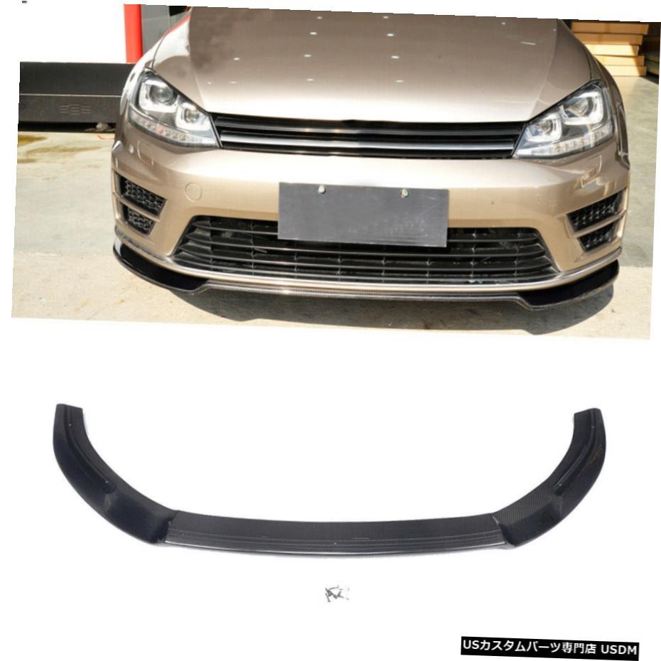 <title>車用品 バイク用品 >> パーツ 外装 エアロパーツ その他 フォルクスワーゲンVWゴルフVII MK7 R RLINE用カーボンファイバーフロントバンパーリップチン15-16 Carbon Fiber Front Bumper Lip Chin for Volkswagen 内祝い VW Golf VII Rline 15-16</title>