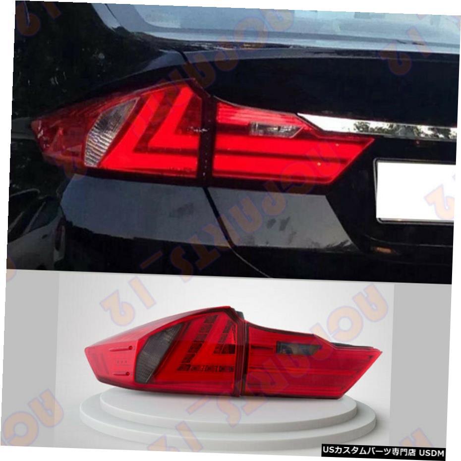 超安い エアロパーツ Brake ホンダCITY Assembly 2015-2018高品質赤色LEDテールライトブレーキ組立用 Tail For Honda CITY 2015-2018 High Quality Red LED Tail Light Brake Assembly, PARTICULIERE/Chardin:85d52498 --- santrasozluk.com