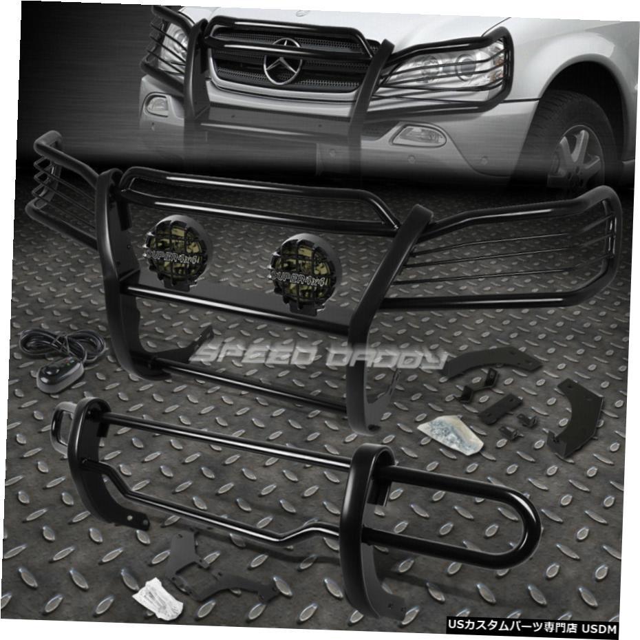 魅力の グリル 98から05 W163 98から05 M-CLASS SUV FOR LIGHT BLACK BLACK BRUSH GRILLE +リアバンパーガード+スモークFOG LIGHT BLACK BRUSH GRILLE+REAR BUMPER GUARD+SMOKE FOG LIGHT FOR 98-05 W163 M-CLASS SUV, プレシャスランド:8b539221 --- gerber-bodin.fr