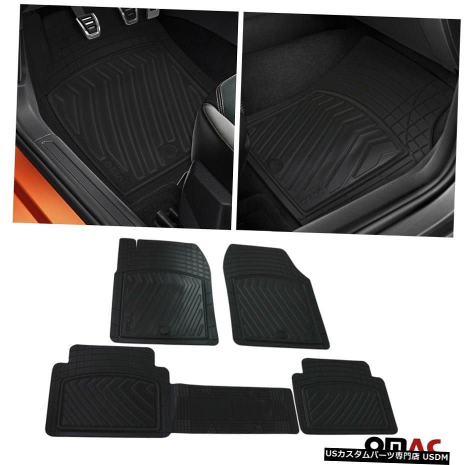 【即日発送】 Floor Mat 3D全天候型フロアマットライナーセットフロントリアブラックアキュラRDX2007-2021 3D All-Weather Floor Mats Liner Set Front Rear Black For Acura RDX 2007-2021, FLiC -フリック- ワイシャツ専門店 d505b5b1