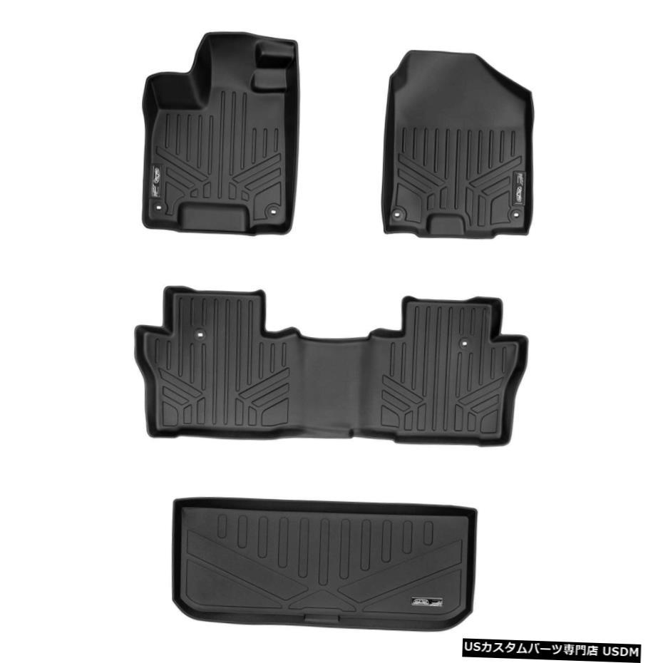 <title>お得セット 車用品 バイク用品 >> パーツ 内装パーツ その他 Floor Mat マックスライナーフロアマット2列カーゴライナーセットブラックホンダパイロット2016-2021 Maxliner Mats 2 Rows Cargo Liner Set Black For Honda Pilot 2016-2021</title>