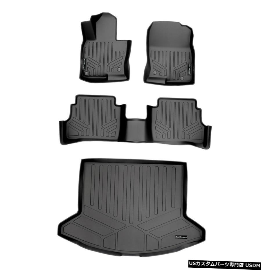 車用品 割り引き バイク用品 >> パーツ 内装パーツ その他 Floor Mat Maxlinerフロアマットセットとカーゴライナーブラック2017-2021マツダCX-5 Maxliner Cargo Liner Set 限定品 Mazda For CX-5 Black And Mats 2017-2021