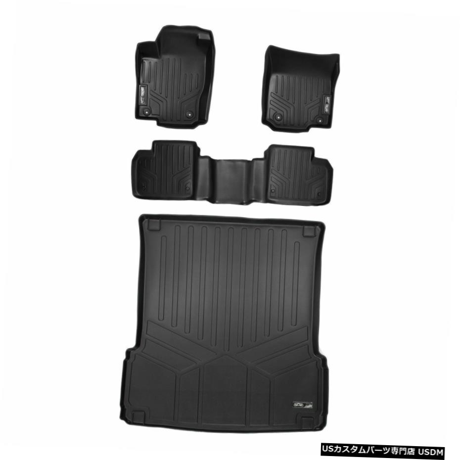 <title>車用品 バイク用品 >> パーツ 内装パーツ その他 Floor Mat MaxLiner 1st 2nd Cargo Behind Mats Blk for 再再販 12-21 Mercedes GL-Class</title>