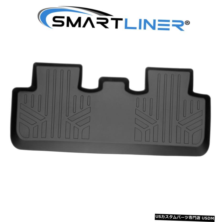 素晴らしい Floor Mat SMARTLINERカスタムフィット2列目ブラックフロアマットライナー2020-2021テスラモデルY SMARTLINER Custom Fit 2nd Row Black Floor Mat Liners for 2020-2021 Tesla Model Y, のぼりキング 43a8ac07