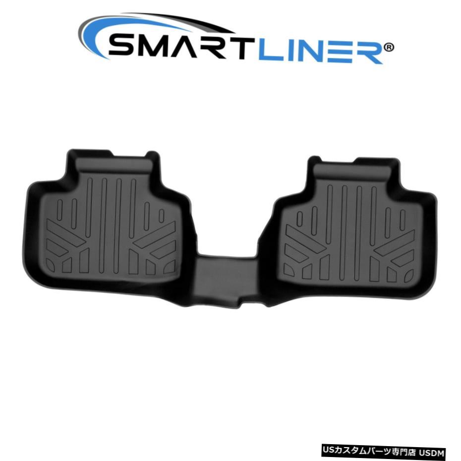 最も  Floor Mat SMARTLINERフロアマットライナー2列目ブラック2016-2021BMW X1 / 2018-21 BMW X2 SMARTLINER Floor Mats Liner 2nd Row Black for 2016-2021 BMW X1 / 2018-21 BMW X2, カミカワチマチ 9d8488ce