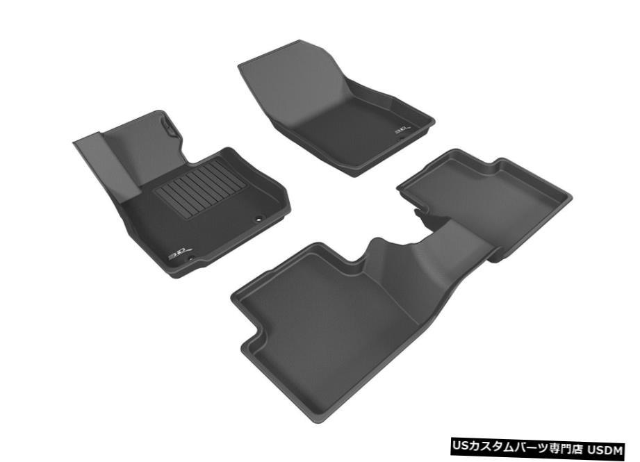 車用品 バイク用品 >> パーツ 18%OFF 内装パーツ その他 毎日がバーゲンセール Floor Mat Kagu All-Weather for 2016-20 Row Custom Mats CX-3 Liners Black Fit 1st-2nd