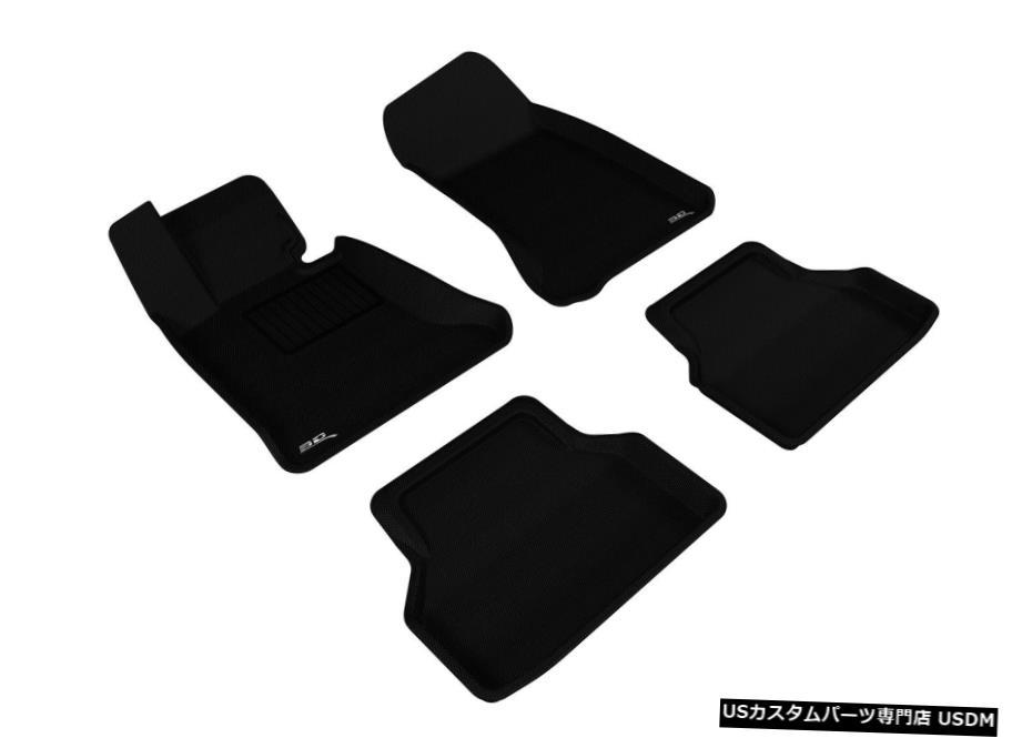 車用品 完全送料無料 バイク用品 >> パーツ 内装パーツ その他 Floor Mat 高価値 カグーカスタムライナーブラック2004-10BMW 5シリーズセダン用1?2列目フロアマット Kagu Custom Liners for Black Series 5 Row Sedan BMW 2004-10 1st-2nd Mats