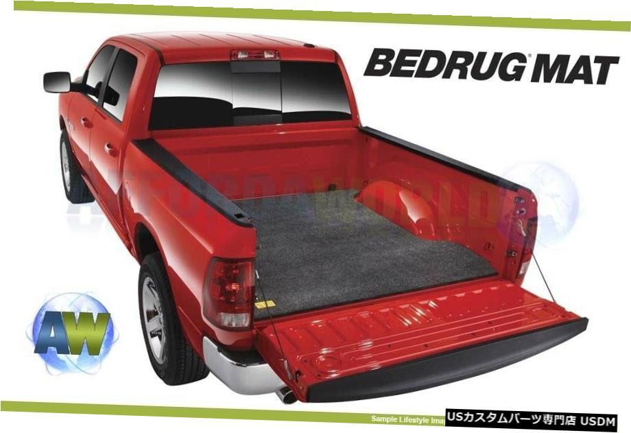 車用品 バイク用品 >> 日本 年中無休 パーツ 内装パーツ その他 Floor Mat スプレーインライナー付き なしのトラック用BedRugカスタムグレー8フィートベッドマットBMT02LBS BedRug Gray With Truck Without BMT02LBS 8ft Custom Liner For Bed Spray-In