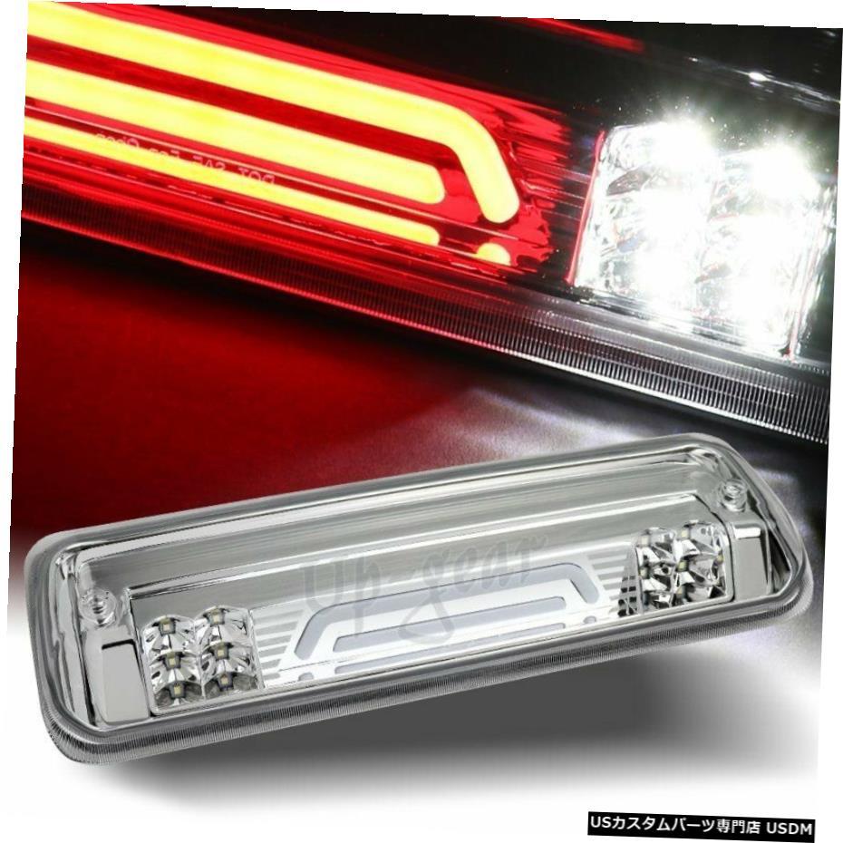 車用品 バイク用品 >> パーツ 出群 外装 エアロパーツ その他 クロームメッキ 2004-2008フォードF150クロームLEDストリップサードブレーキストップライト カーゴランプ付き For 2004-2008 Brake Third Strip Ford LED F150 Stop W Cargo 付与 Chrome Light Lamp