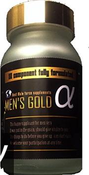 (5個+1個サービス計6個販売)(MEN'S GOLD α メンズゴールドアルファ)マカ末 トンカットアリ末 赤ガオクルア末アリ末 オットセイ骨格筋 健康応援サプリメント (代引不可)