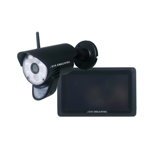 DXデルカテック ワイヤレス フルHD カメラ&モニターセット WSC610S