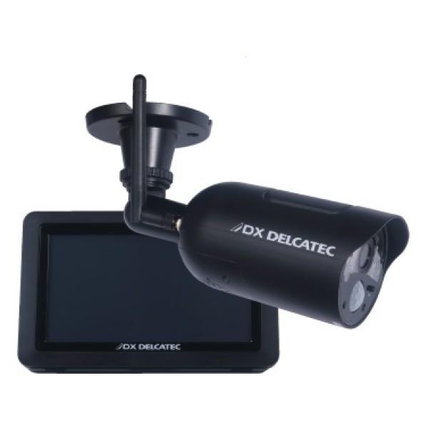 DXデルカテック ワイヤレス HD カメラ&モニターセット WSC410S