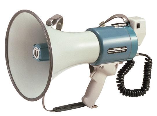 拡声器 ユニペックス 15W 中型メガホン 拡声器 TRM-66A