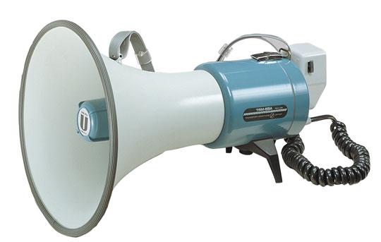 拡声器 ユニペックス 15W 中型メガホン 拡声器 TRM-55A