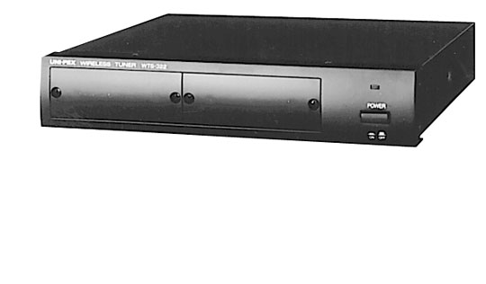 ユニペックス 300MHz帯 ワイヤレス受信機 WTS-322