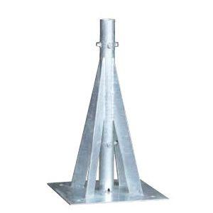 (受注生産品)DXアンテナ 共同受信用UVアンテナ自立ベース(ステンレス)MHB40LS(40A)【MHB-40LS】