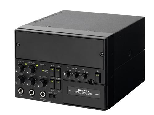 拡声器 ユニペックスUNI-PEX 車載用ミキサーアンプ NX-9500