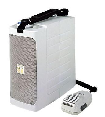 拡声器 TOA ホイッスル音付ショルダー型コンパクトメガホン 6W ER-604W