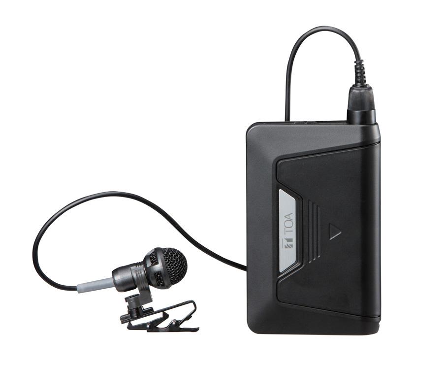 TOA 800MHz帯 デジタルワイヤレスマイク タイピン型 WM-D1300