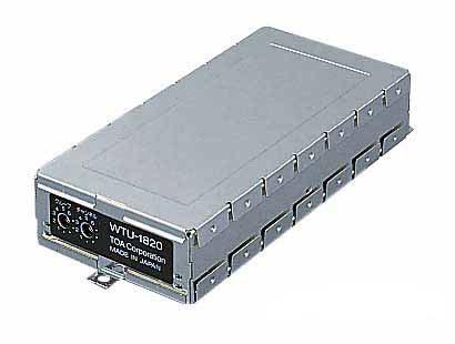 TOA 800MHz帯 ダイバシティ ワイヤレスチューナーユニット WTU-1820