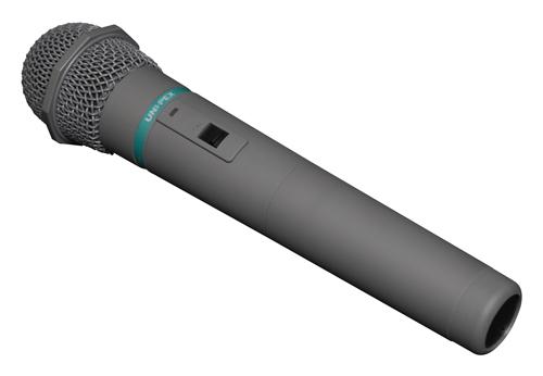 ユニペックス 300MHz帯 ワイヤレスマイク WM-3000A