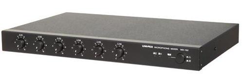 ユニペックス マイクロホンミキサー MX-192