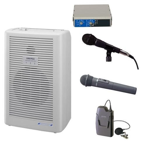 拡声器 20W PLL800MHz帯 選挙用スピーチセット WA-862A DU-850A MD-58 WM-8400 WM-8100A