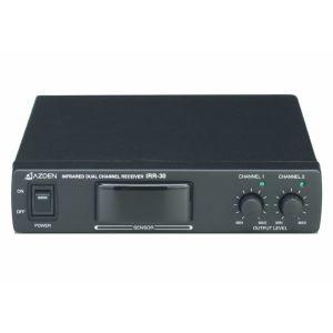 ユニペックス 2チャンネル赤外線ワイヤレスレシーバー IRR-30