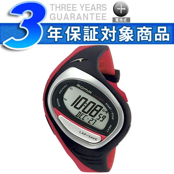 【SOMA】ソーマ SEIKO セイコー RUNONE300 ランワン300 ミディアムサイズ デジタル 腕時計 DWJ02-0004