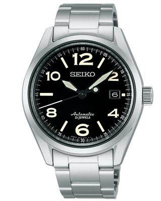 拧男子精工机械自动,并且手缠,并且是男子手表SARG009