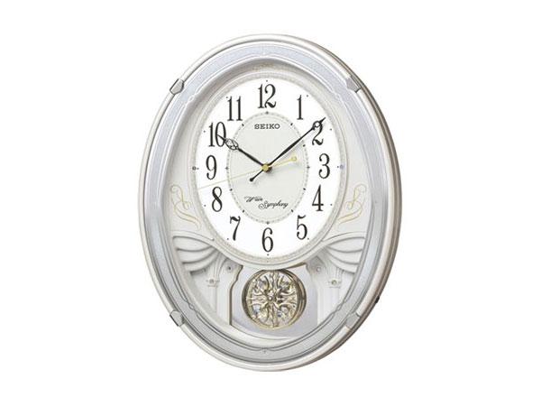 【正規品】セイコー SEIKO CLOCK SEIKO からくり時計 電波時計 掛け時計 AM258W
