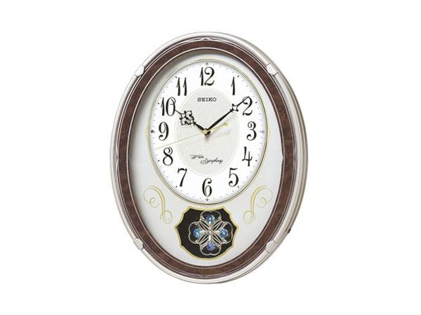 【正規品】セイコー SEIKO CLOCK SEIKO からくり時計 電波時計 掛け時計 AM259B