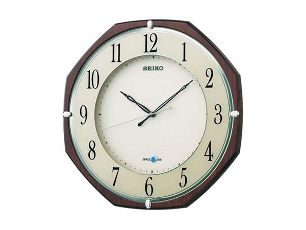 【正規品】セイコー SEIKO CLOCK SEIKO 衛星電波時計 スペースリンク 掛け時計 GP207B