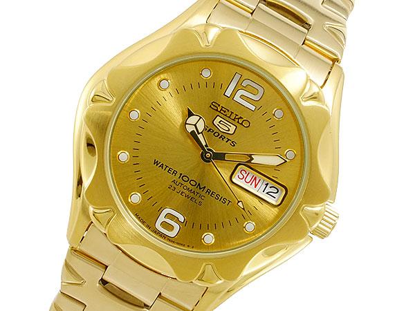 【日本製逆輸入SEIKO 5】セイコー SEIKO セイコー5 スポーツ 5 SPORTS 日本製 自動巻 メンズ 腕時計 SNZ460J1