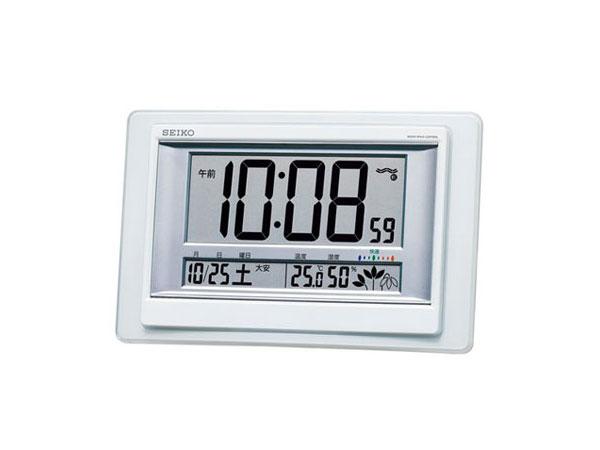 【正規品】セイコー SEIKO CLOCK SEIKO 電波時計 掛置兼用時計 SQ432W
