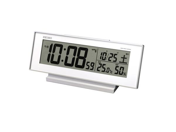 SEIKO SEIKO CLOCK SEIKO Radio Time Signal Alarm Clock SQ762W