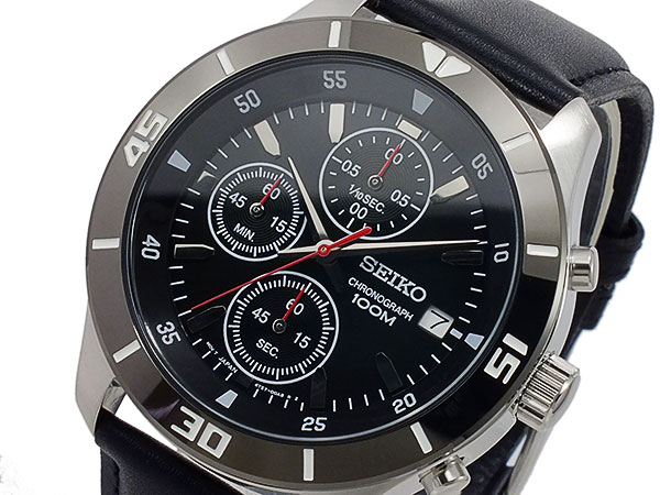 Seiko quartz mens Chronograph Watch SKS405P2