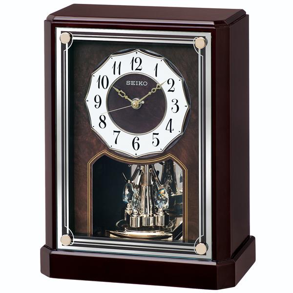 【SEIKO CLOCK】 セイコークロック 電波時計 置時計 アナログ BY243B