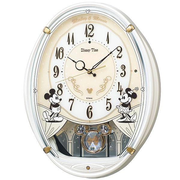 【SEIKO CLOCK】 セイコークロック ミッキー&フレンズ 電波時計 掛け時計 アナログ FW579W
