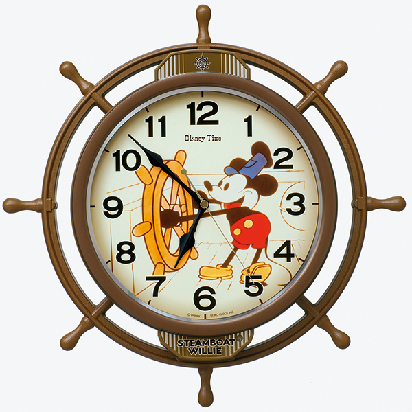 【SEIKO CLOCK】 セイコークロック ミッキー&フレンズ 電波時計 掛け時計 アナログ FW583A