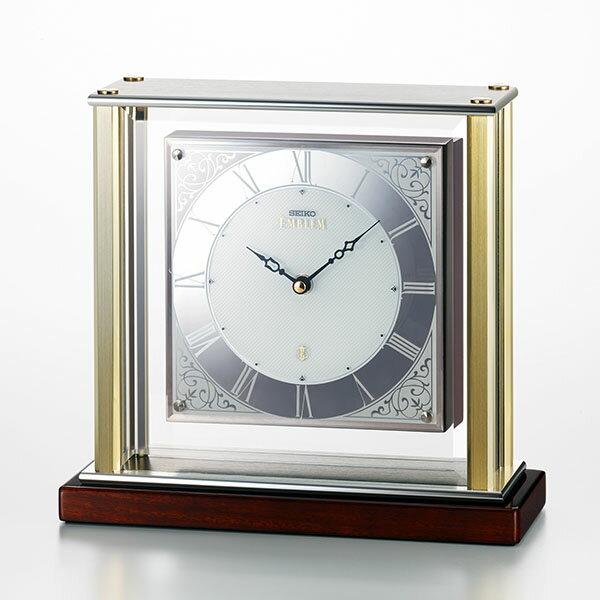 【正規品】セイコークロック EMBLEM セイコークロック エンブレム 置時計 アナログ HW598S
