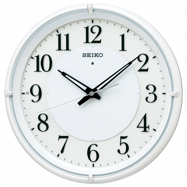 【SEIKO CLOCK】 セイコークロック 電波時計 掛け時計 アナログ KX233W