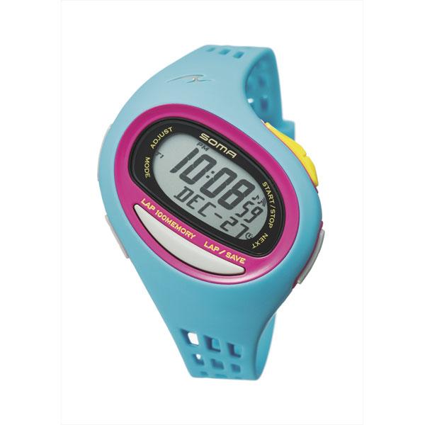 Soma RUNONE 100SL lane one medium size quartz running watch digital watch NS09007