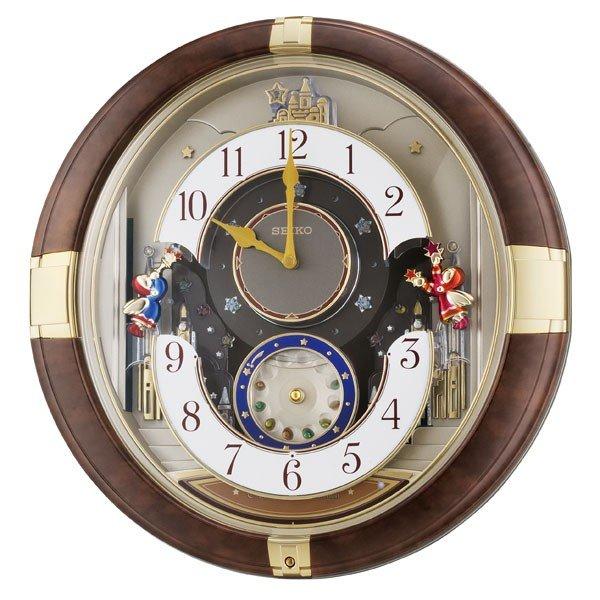 【SEIKO CLOCK】 セイコークロック 掛け時計 からくり時計 アナログ RE816B
