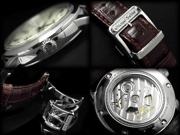 男子的运动场精工机械手表SBGR061