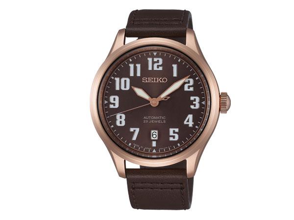 【SEIKO SPIRIT SMART】セイコー スピリットスマート ナノ・ユニバース nano・universe コラボ 限定モデル 自動巻き メカニカル メンズ 腕時計 ブラウン SCVE046