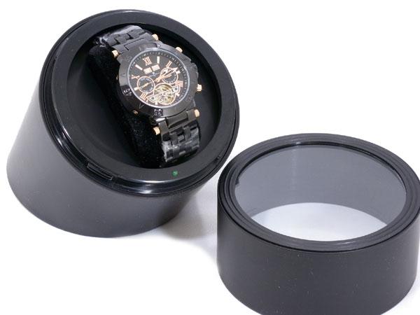 在庫あり お取り寄せの為 ご注文確定後の商品変更 返品不可 全国一律送料無料 ウォッチワインダー ワインディングマシーン 1本用 3BI005-BK 腕時計収納ケース